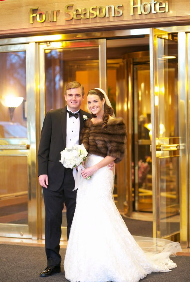 Wedding At The Four Seasons Hotel Boston - Samantha & Matt