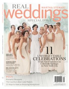 Marth Stewart Weddings - Real Weddings (Cover) Spring 2014