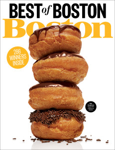 Best of Boston Magazine Cover