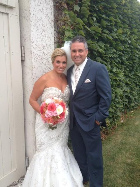 Andrea and Jason Wedding Newport