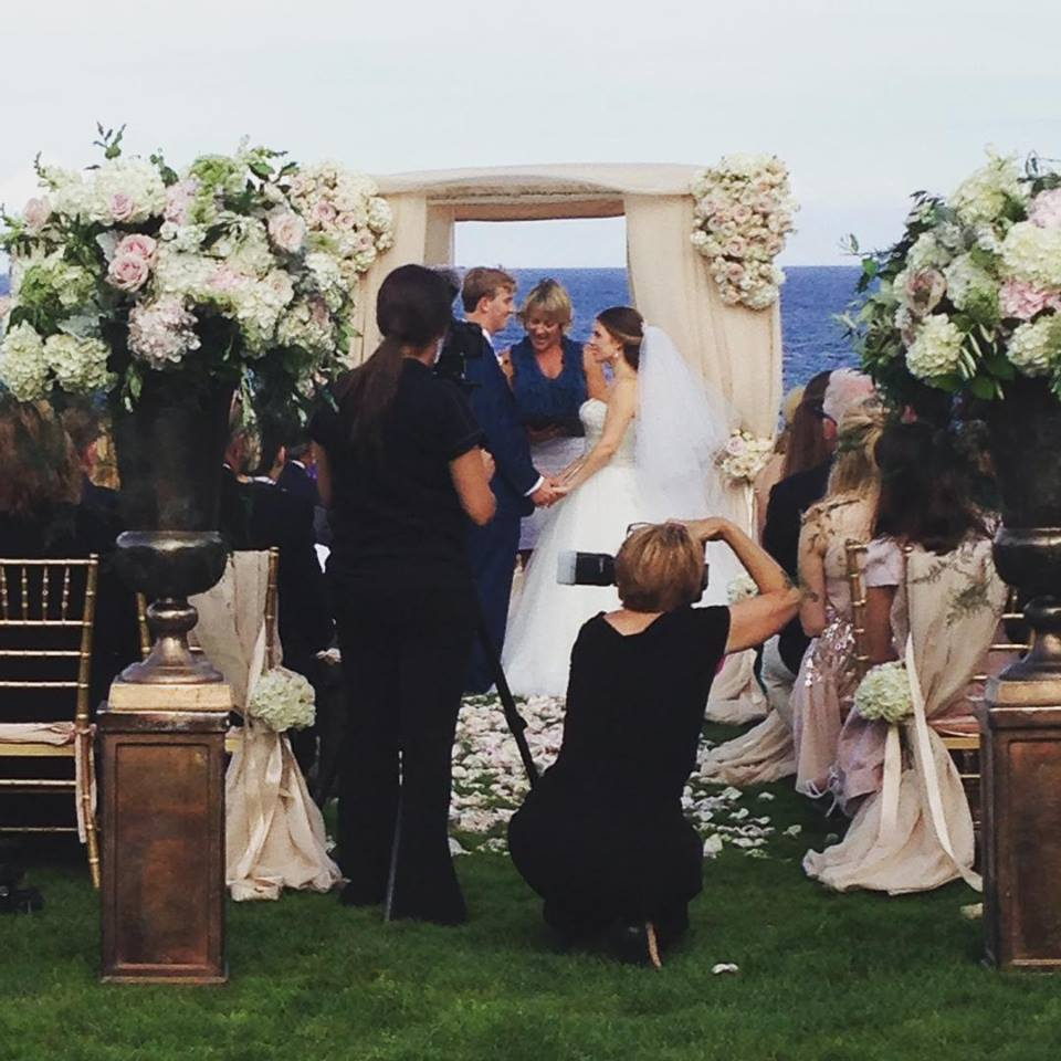 Waterfront Summer Wedding @ The Chanler Inn