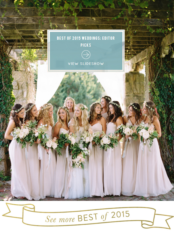 KH Wedding Featured In Style Me Pretty's Best Of 2015 Weddings