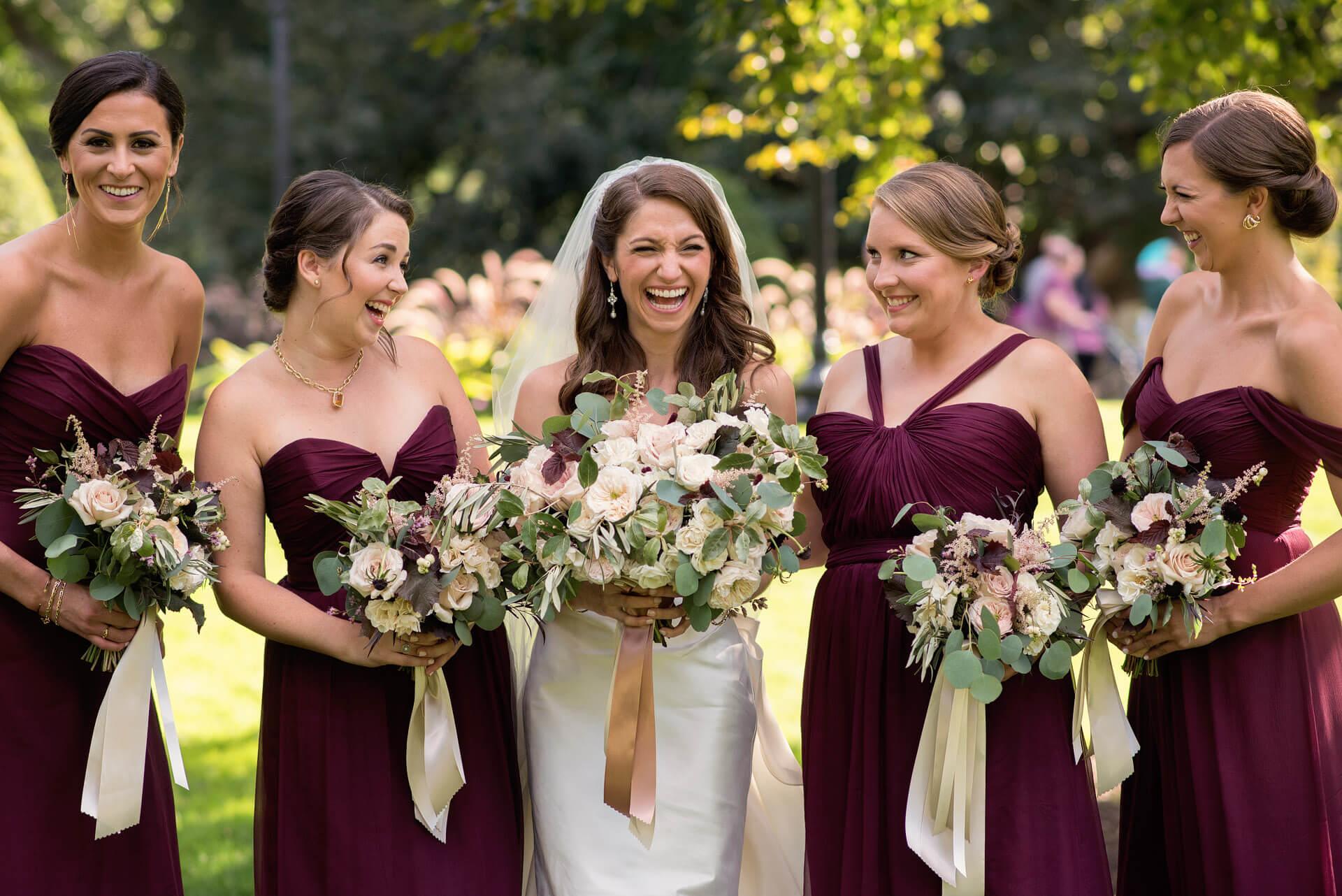 Fairmont Copley Plaza Boston Fall Wedding Makeup