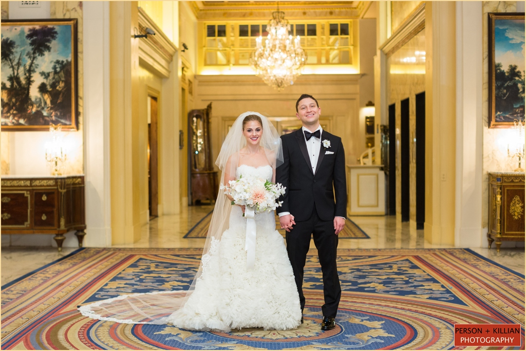 Classic Jewish Fall Wedding Makeup - Fairmont Copley Plaza Boston