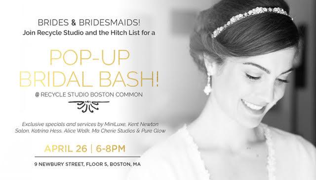 A Pop-Up Brides & Bridesmaids Bash