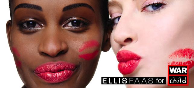 Summer Lips and Ellis Faas' Makeup Not War Campaign